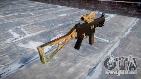 Gun UMP45 Jungle für GTA 4 Sekunden Bildschirm