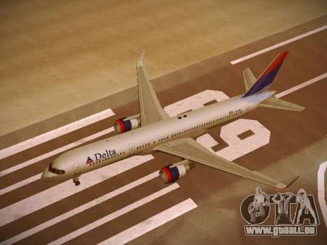 Boeing 757-232 Delta Airlines pour GTA San Andreas salon
