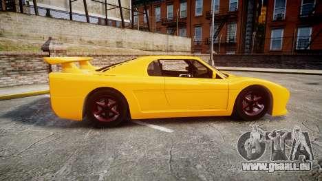 Livraga 350 pour GTA 4 est une gauche