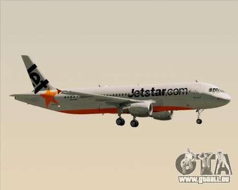 Airbus A320-200 Jetstar Airways pour GTA San Andreas moteur