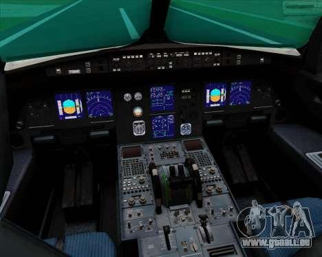 Airbus A321-200 Qatar Airways für GTA San Andreas Innen