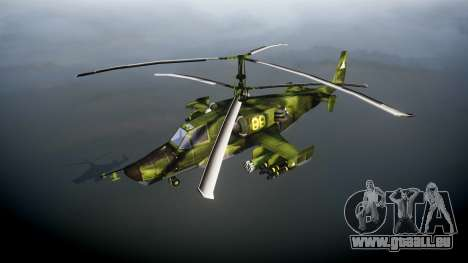 Ka-50 Black shark pour GTA 4