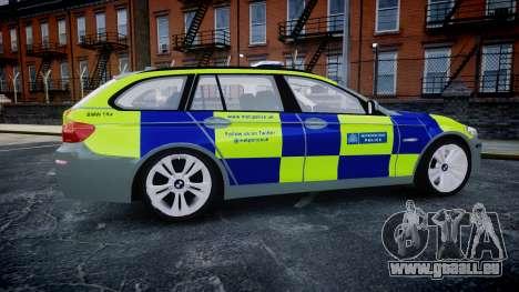BMW 530d F11 Metropolitan Police [ELS] SEG pour GTA 4 est une gauche