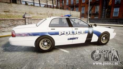 GTA V Vapid Cruiser LP [ELS] pour GTA 4 est une gauche