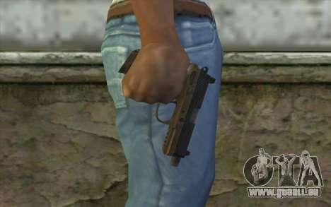 FN FNP-45 Sans Silencieux pour GTA San Andreas troisième écran