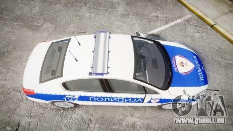 Peugeot 508 Republic of Srpska [ELS] für GTA 4 rechte Ansicht