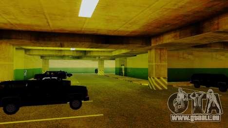 De nouveaux véhicules dans le LVPD pour GTA San Andreas huitième écran