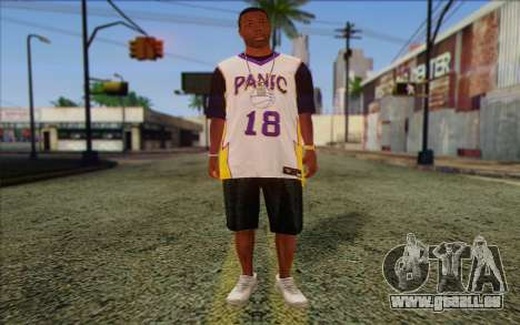 Ballas from GTA 5 Skin 3 pour GTA San Andreas