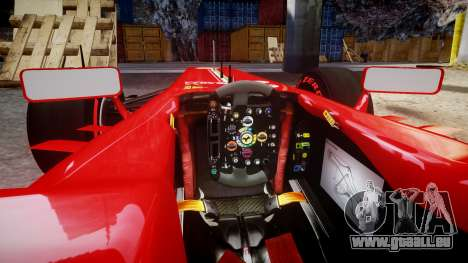 Ferrari F138 v2.0 [RIV] Massa TSSD pour GTA 4 est une vue de l'intérieur