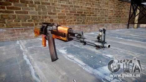 Kalachnikov modernisé (AKM) pour GTA 4