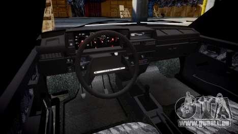 VAZ-2109 Abfluss für GTA 4 Innenansicht