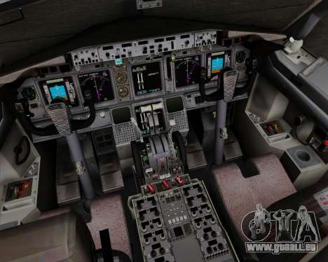 Boeing 737-800 World Travel Airlines (WTA) für GTA San Andreas Innen