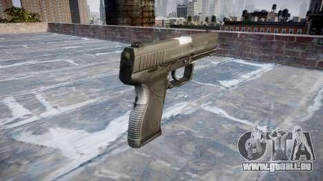Pistole Taurus 24-7 schwarz icon1 für GTA 4 Sekunden Bildschirm