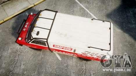 Kessler Stowaway Simpson für GTA 4 rechte Ansicht