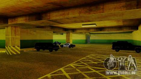 De nouveaux véhicules dans le LVPD pour GTA San Andreas cinquième écran