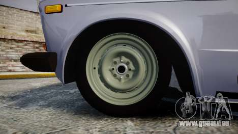VAZ-2106 sechs für GTA 4 Rückansicht