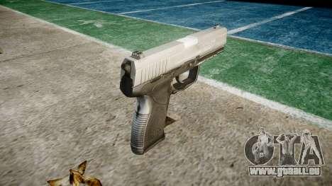 Pistolet Taurus 24-7 titane icon3 pour GTA 4 secondes d'écran