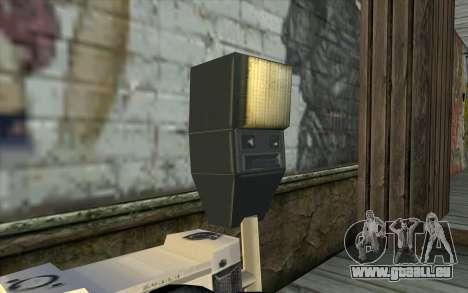 Camera from Beta Version pour GTA San Andreas troisième écran