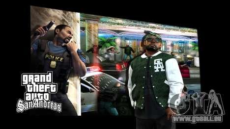 Les écrans de chargement pour GTA San Andreas deuxième écran