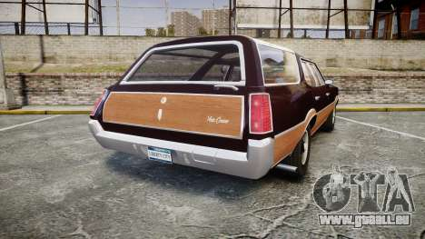 Oldsmobile Vista Cruiser 1972 Rims2 Tree2 für GTA 4 hinten links Ansicht