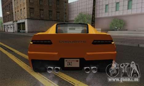 GTA 5 Invetero Coquette (IVF) pour GTA San Andreas vue de droite
