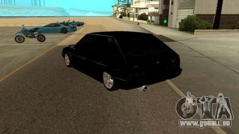 VAZ 2109 Turbo pour GTA San Andreas sur la vue arrière gauche