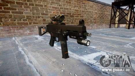 Pistolet UMP45 CE Numériques pour GTA 4