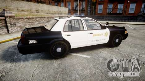Ford Crown Victoria LASD [ELS] Marked für GTA 4 linke Ansicht