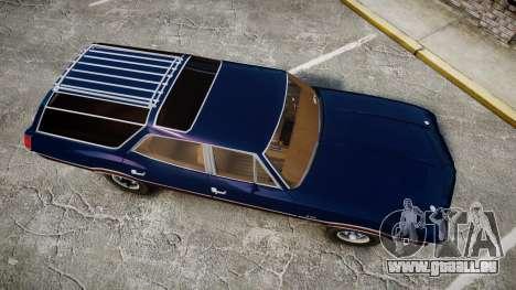 Oldsmobile Vista Cruiser 1972 Rims2 Tree4 pour GTA 4 est un droit