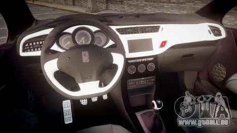 Citroen DS3 Convertible pour GTA 4 Vue arrière