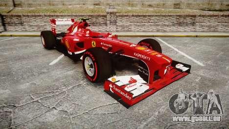Ferrari F138 v2.0 [RIV] Massa TSSD pour GTA 4