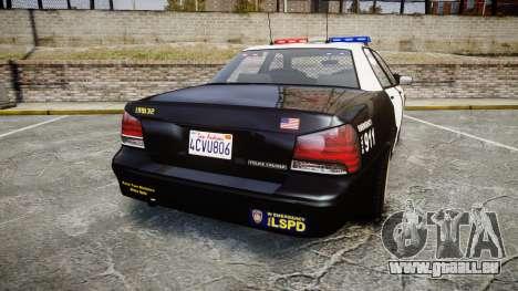 GTA V Vapid Cruiser LSP [ELS] für GTA 4 hinten links Ansicht