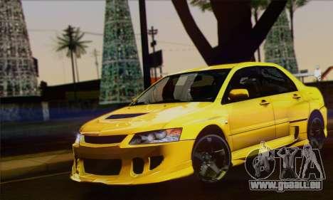 Mitsubishi Lancer Evolution VIII pour GTA San Andreas