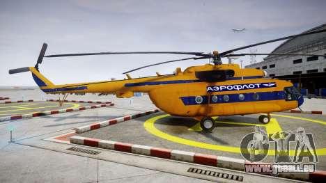 Mi-8 für GTA 4 linke Ansicht
