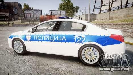 Peugeot 508 Republic of Srpska [ELS] für GTA 4 linke Ansicht