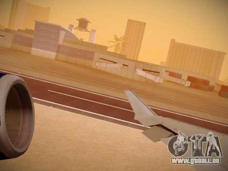 Bombardier CRJ-700 United Express pour GTA San Andreas moteur