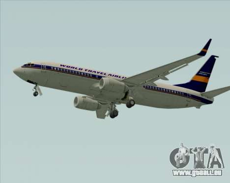 Boeing 737-800 World Travel Airlines (WTA) für GTA San Andreas Rückansicht