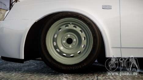 VAZ-Lada Priora 2170 pour GTA 4 Vue arrière
