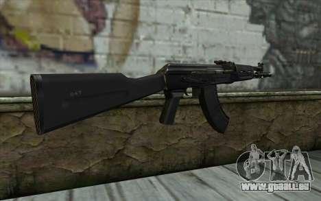 L'AK-104 pour GTA San Andreas deuxième écran