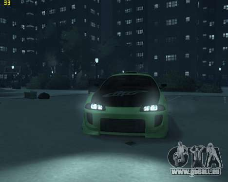 Mitsubishi Eclipse from Fast and Furious für GTA 4 rechte Ansicht