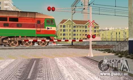 De nouvelles textures pour le trafic ferroviaire pour GTA San Andreas