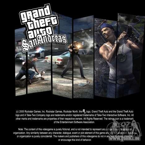 Die loading screens für GTA San Andreas her Screenshot