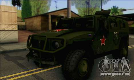GAZ 2975 Tiger für GTA San Andreas