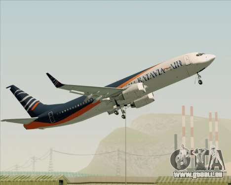Boeing 737-800 Batavia Air (New Livery) für GTA San Andreas