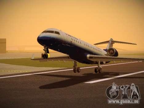 Bombardier CRJ-700 United Express pour GTA San Andreas