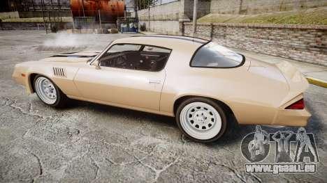 Chevrolet Camaro Z28 1979 für GTA 4 linke Ansicht