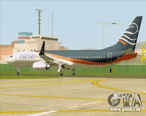 Boeing 737-800 Batavia Air (New Livery) für GTA San Andreas Innenansicht