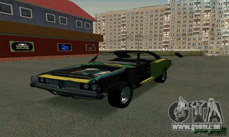 Dodge Charger HL2 EP2 für GTA San Andreas