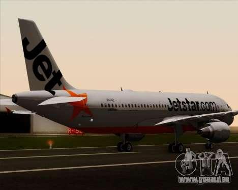 Airbus A320-200 Jetstar Airways pour GTA San Andreas roue