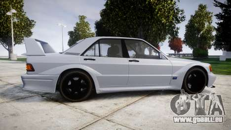 Mercedes-Benz 190E Evolution II für GTA 4 linke Ansicht